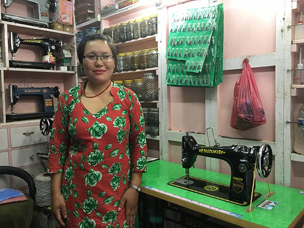 A new home tailoring business