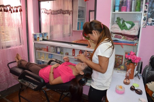 Beauty salon opened in May